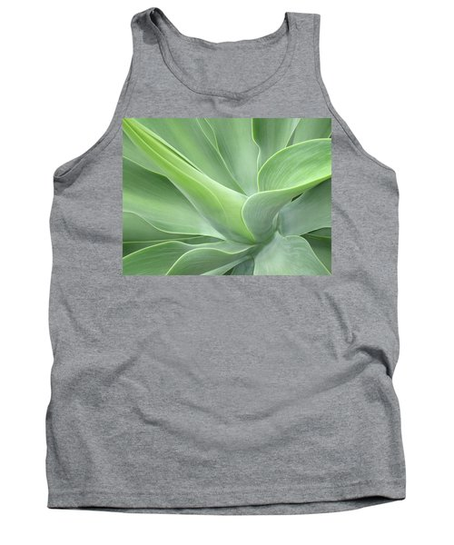 Agave Attenuata Abstract Tank Top