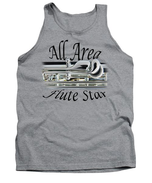 All Area Flute Star  Tank Top