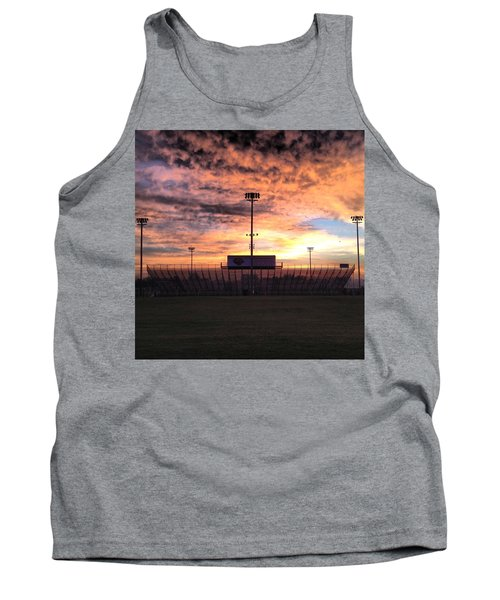 Alma High School Don Miller Field Sunrise Bleachers Tank Top