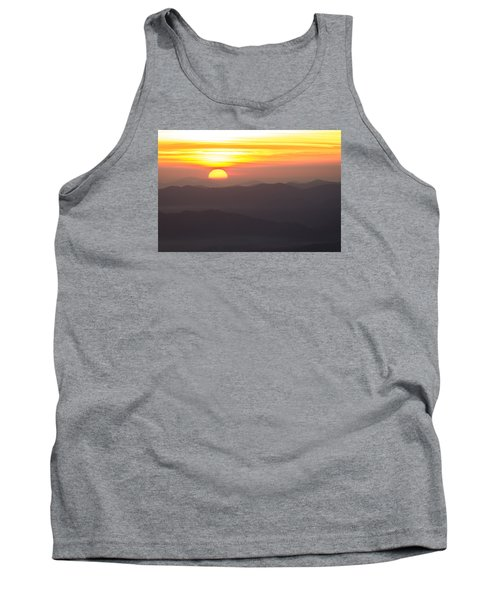 Tank Top featuring the photograph Appalachian Sunrise by Serge Skiba