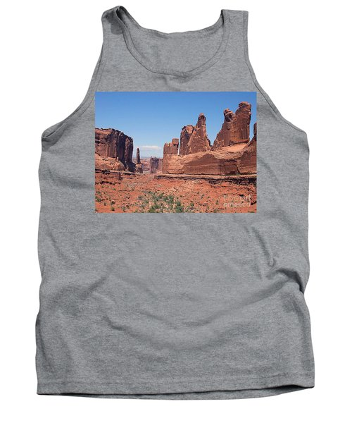 Arches National Park Panorama Tank Top by Merton Allen