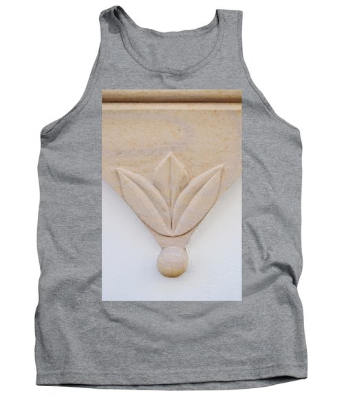 Architectural Detail No. 3 Tank Top by Sandy Taylor