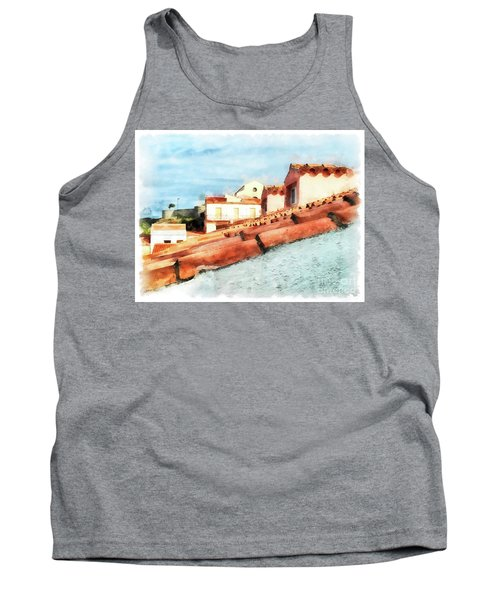Arzachena Roof And Church Tank Top