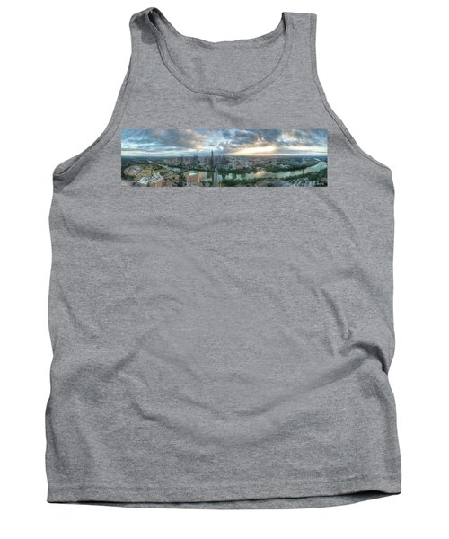 Austin Cityscape Tank Top by Andrew Nourse
