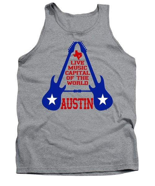 Austin Live Music Capital Of The World Tank Top