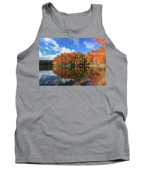 Autumn At Boley Lake Tank Top