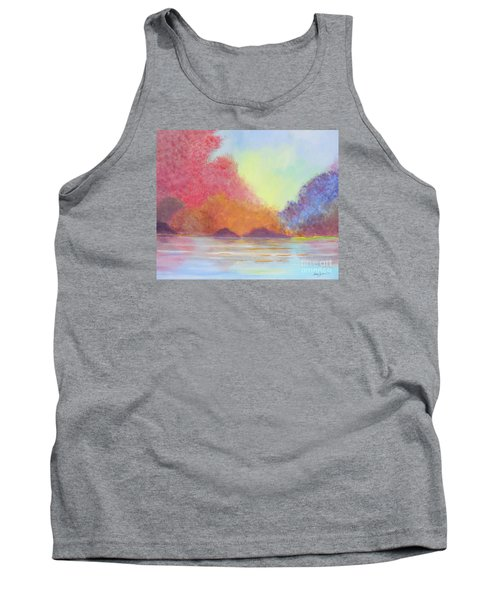 Autumn's Aura Tank Top by Stacey Zimmerman