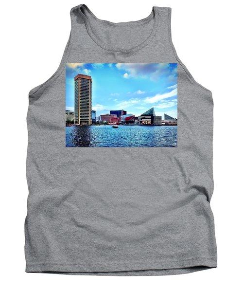 Baltimore's Inner Harbor Tank Top
