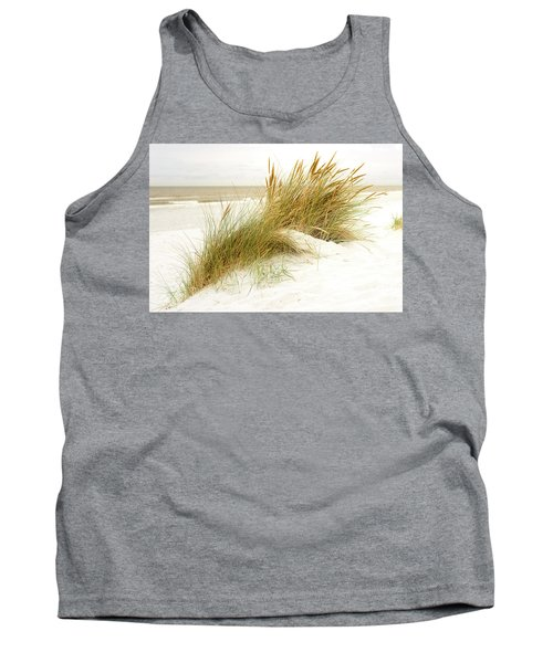 Tank Top featuring the photograph Beach Grass by Hannes Cmarits