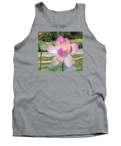 Tank Top featuring the photograph Beautiful Indian Lotus by Odon Czintos