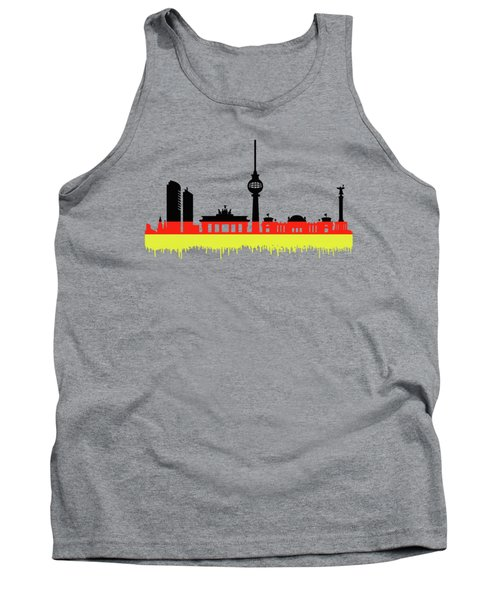 Berlin Skyline Tank Top by Solomon Barroa