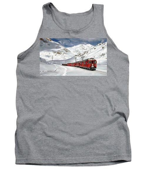 Bernina Winter Express Tank Top