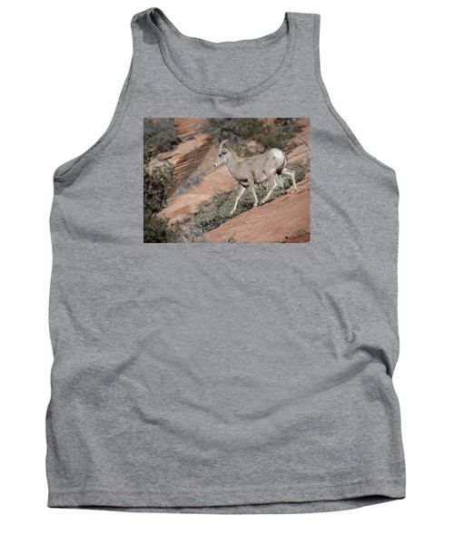 Big Horn Sheep Tank Top by Tyson and Kathy Smith