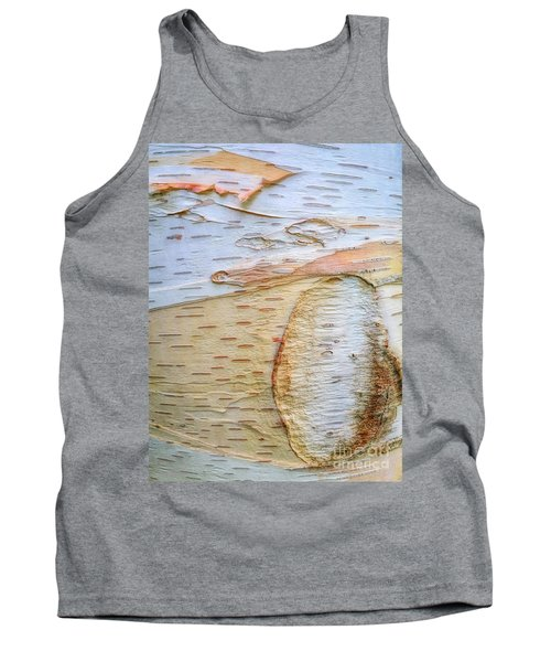 Birch Tree Bark Tank Top by Todd Breitling