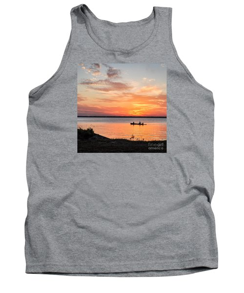 Boating Sunset Tank Top