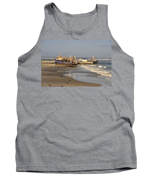 Boats Aground Tank Top