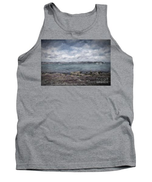 Tank Top featuring the photograph Brixham Harbour by Patricia Hofmeester