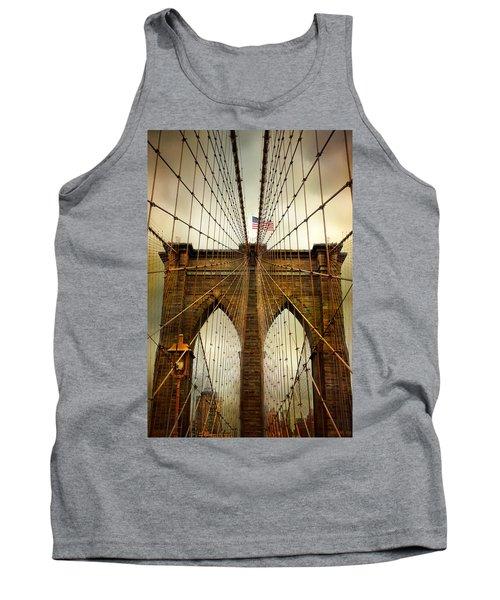 Brooklyn Bridge Twilight Tank Top