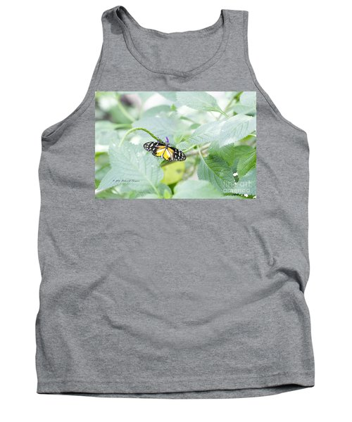 Tiger Butterfly Tank Top