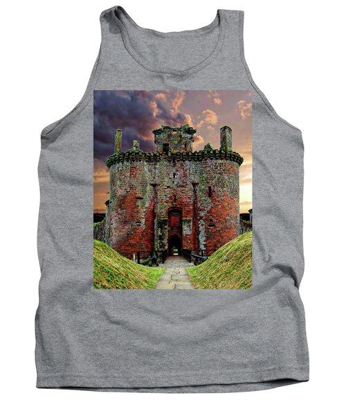 Caerlaverock Castle Tank Top