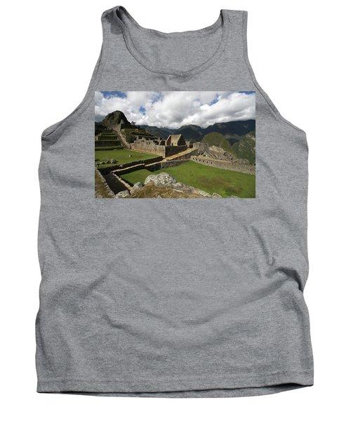 Central Plaza At Machu Picchu Tank Top by Aidan Moran