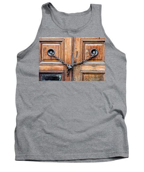 Chained Door Tank Top