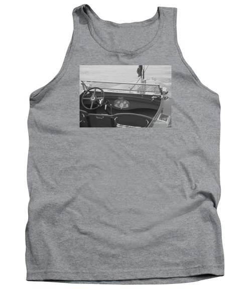 Runabout On Pewaukee Tank Top