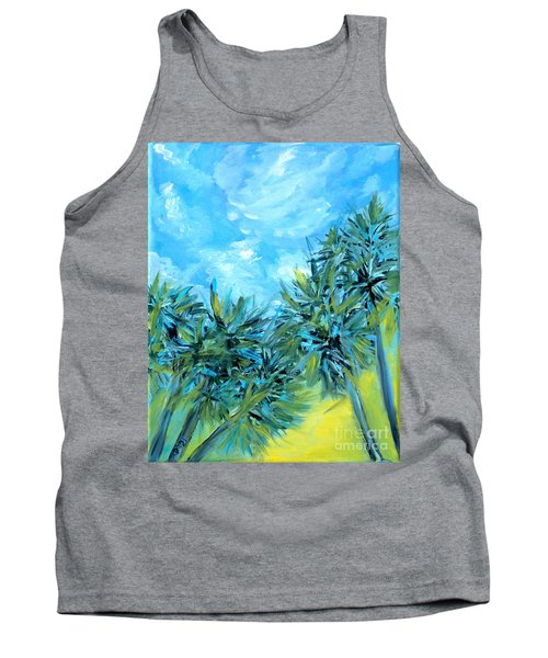Collection Art  For Health And Life. Painting 10  Tank Top