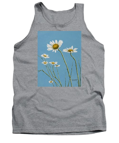 Daisies In The Wind Tank Top