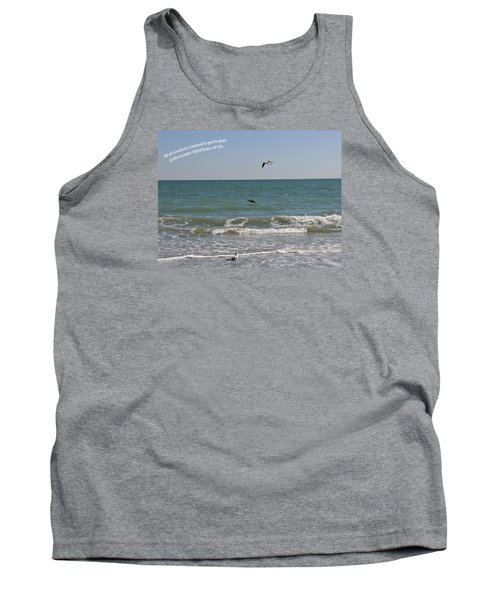 Tank Top featuring the photograph Dance Of Life by Rhonda McDougall