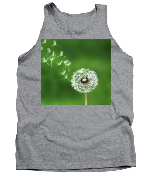 Tank Top featuring the photograph Dandelion by Bess Hamiti