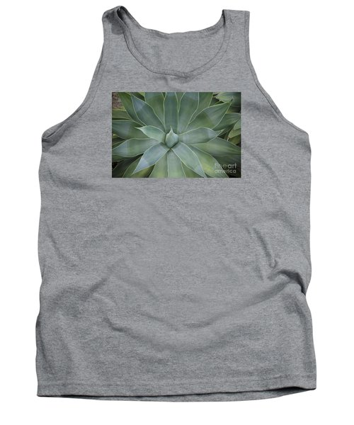Detail Of An Agave Attenuata Tank Top