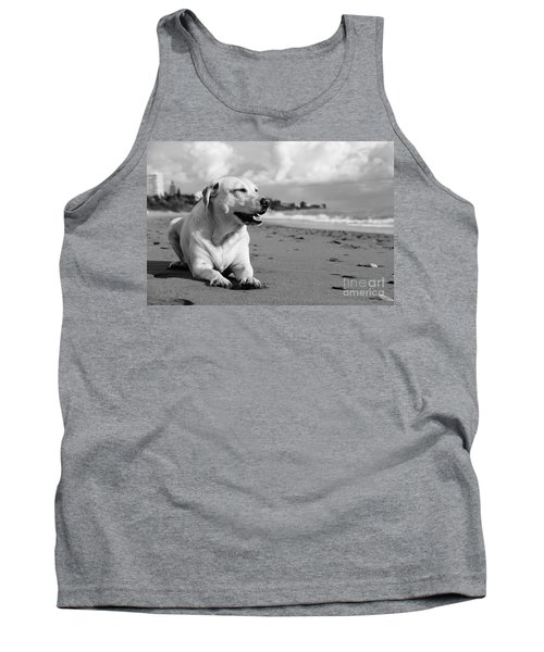 Dog - Monochrome 5  Tank Top