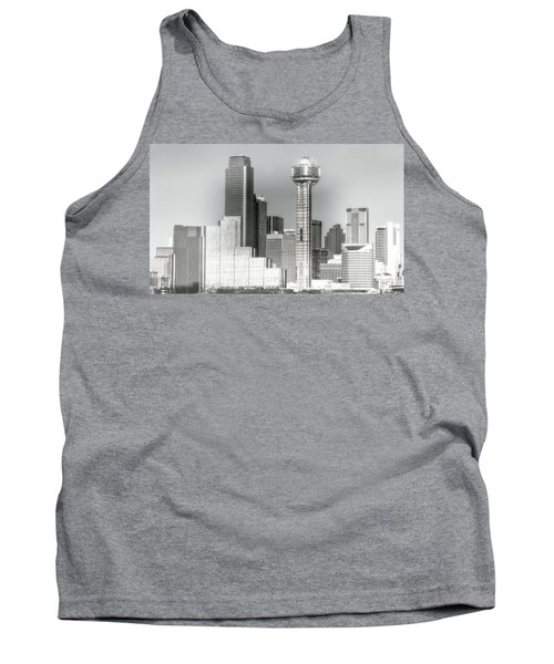 Tank Top featuring the photograph Downtown Dallas by Joan Bertucci
