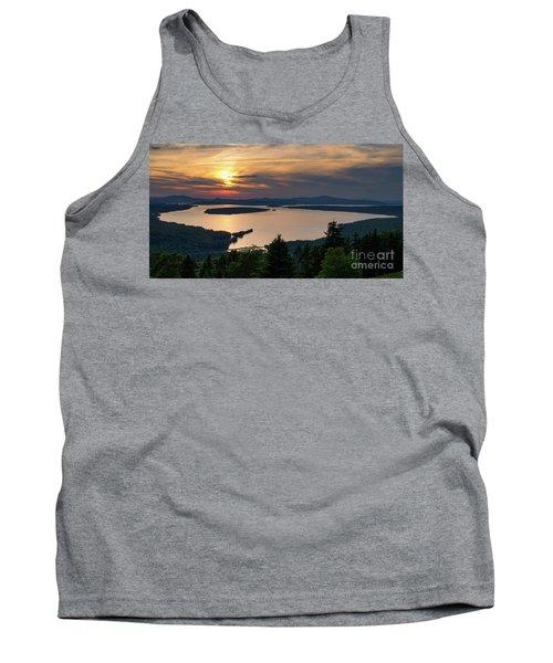 Dusk, Mooselookmeguntic Lake, Rangeley, Maine  -63362-63364 Tank Top