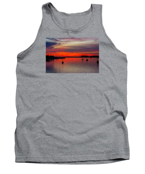 Tank Top featuring the photograph Dusk by RC Pics