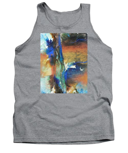 Electric And Warm Tank Top by Becky Chappell