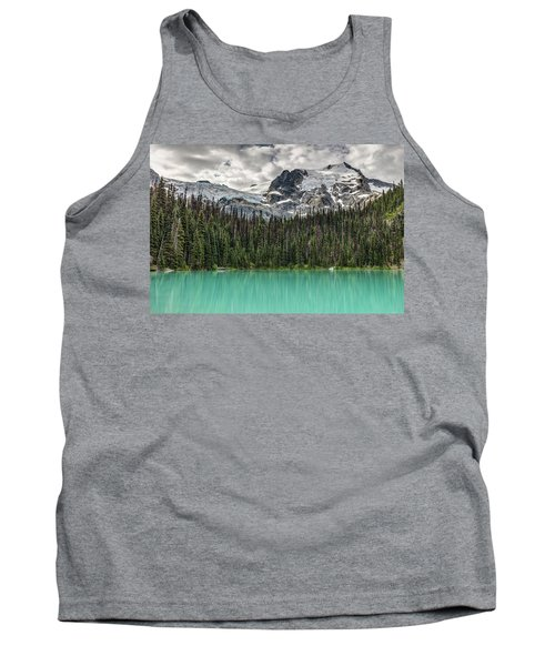 Tank Top featuring the photograph Emerald Reflection by Pierre Leclerc Photography