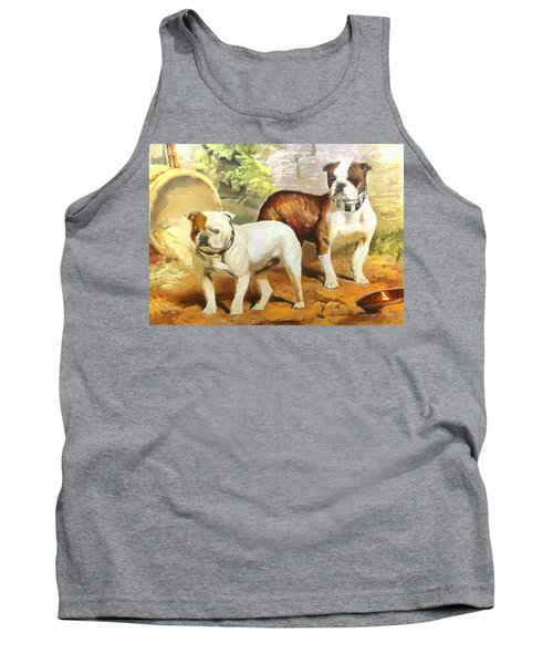 English Bulldogs Tank Top