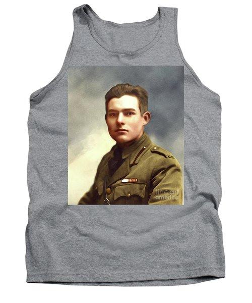 Ernest Hemingway, Literary Legend Tank Top