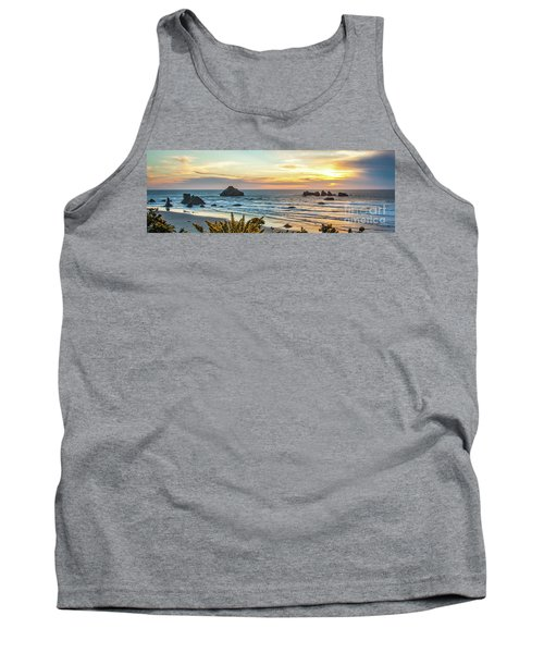 Face Rock At Sunset Tank Top