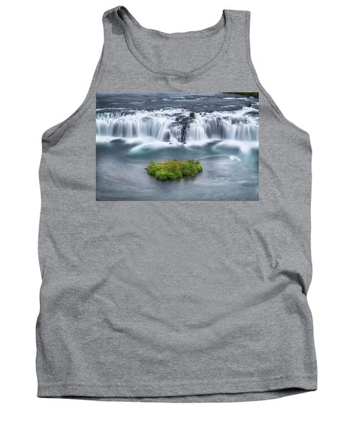 Faxi Waterfall - Iceland Tank Top