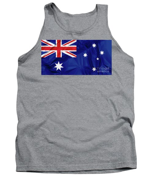 Flag Of Australia Tank Top