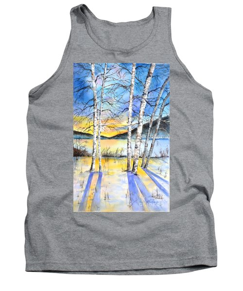 For Love Of Winter #5 Tank Top