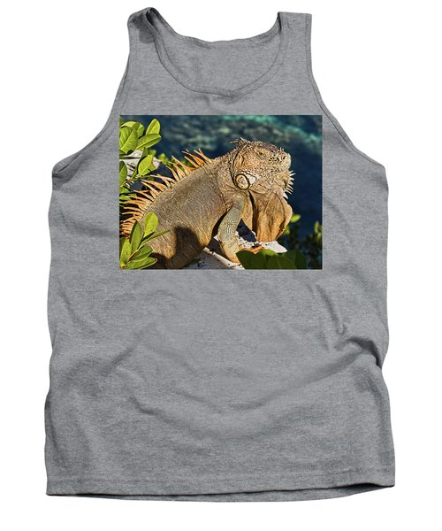 Giant Iguana Tank Top