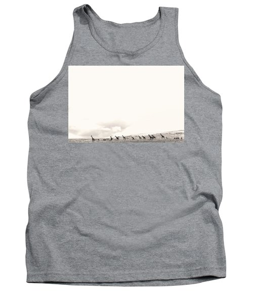 Tank Top featuring the photograph Giraffes by Stefano Buonamici