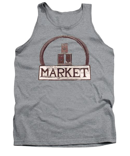 Going To The Market Tank Top