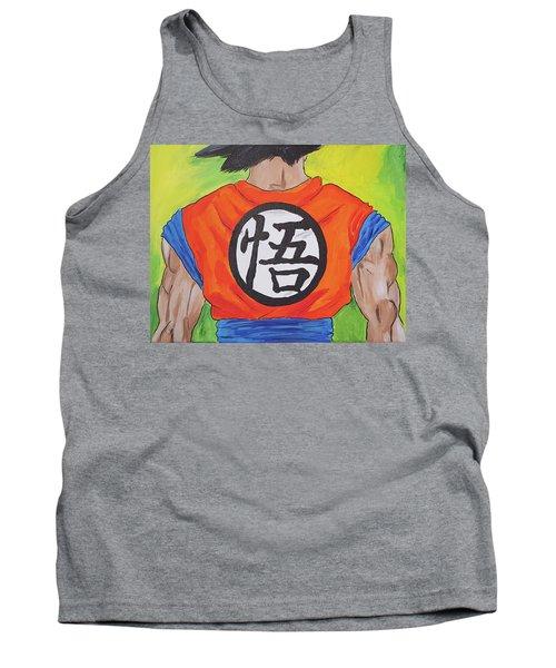 Goku Kanji Tank Top