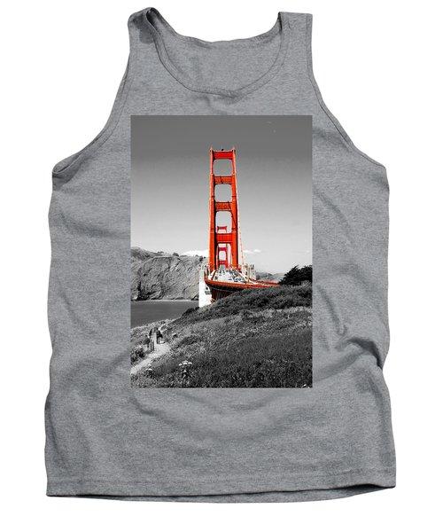 Golden Gate Tank Top by Greg Fortier