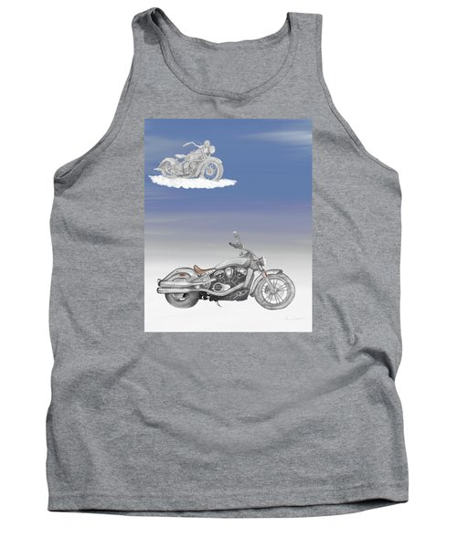Tank Top featuring the drawing Grandson by Terry Frederick